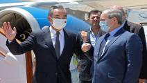 وزيرا الخارجية السوري والصيني
