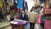 من سوق لبيع الأزياء التقليدية في تونس العاصمة (Getty)