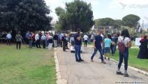 تجمع لفلسطينيي الداخل أمام الكنيست (العربي الجديد)