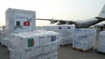 مساعدات من الجزائر إلى تونس - فيسبوك