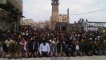 المسجد العمري في درعا (فيسبوك)