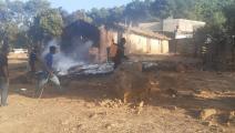 حرائق الغابات- تونس (فيسبوك)