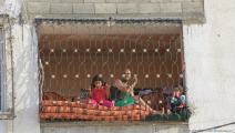 ارتفاع درجات الحرارة في غزة (محمد الحجار)