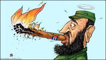 كاريكاتير ثورة في كوبا / حجاج