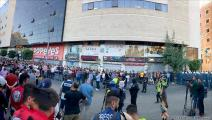 تظاهرة في رام الله احتجاجاً على مقتل نزار بنات (العربي الجديد)