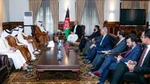 المبعوث الخاص لوزير الخارجية القطري يجتمع مع مسؤولين أفغان (تويتر)