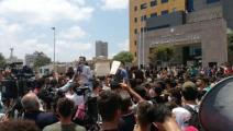 طلاب لبنان يطالبون بإلغاء امتحانات الثانوية العامة  (تويتر)