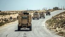 قوات مصرية في محافظة شمال سيناء (خالد دسوقي/ فرانس برس)