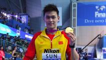 """سون يانغ """"الموقوف""""... الصين ستُنافس بدون بطلها في الأولمبياد"""