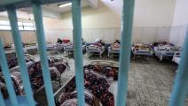 داخل أحد سجون مصر (محمد الشاهد/ فرانس برس)