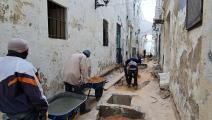 تترقب ليبيا مرحلة إعادة الإعمار (محمود تركية/ فرانس برس)