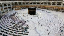 مكة المكرمة وسط أزمة كورونا (عبد الغني عيسى/ فرانس برس)