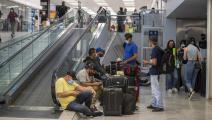 مطار في المكسيك وسط كورونا (ريكاردو فلورس/ Getty)