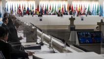 خلال اجتماع مجموعة العشرين في البندقية (أنجيلو كاركوني/ فرانس برس)