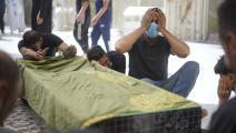 ضحايا حريق مستشفى الحسين في العراق 1 (كرار عيسى/ الأناضول)