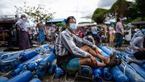 بورما وسط أزمة كورونا (فرانس برس)