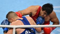 الملاكمة الأولمبية: الجزائري عبد الحفيظ بن شبلة إلى دور الـ16