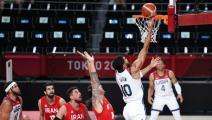 """كرة السلة """"الأولمبية: أميركا تكتسح إيران وألمانيا تستعيد توازنها"""