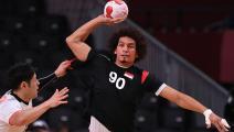 """كرة اليد """"الأولمبية"""": مصر تُسقط اليابان وتقترب من التأهل"""