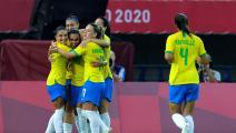 كرة القدم النسائية في الأولمبياد: سيدات البرازيل وهولندا يستعرضن