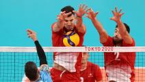 """الكرة الطائرة """"الأولمبية"""": إقصاء منتخب تونس بعد الخسارة الرابعة"""