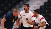 """كرة اليد """"الأولمبية"""": مصر تستعرض بإسقاط السويد وصيفة بطل العالم"""