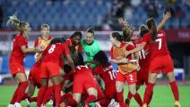 """ربع نهائي الكرة النسائية """"الأولمبية"""": تأهل كندا ومفاجأة أسترالية"""