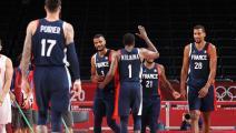 """كرة السلة """"الأولمبية"""": فرنسا تُحقق الفوز الثالث وتأهل إيطاليا"""