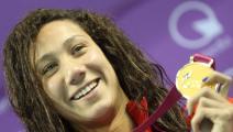 من أجل أول ذهبية...السباحة فريدة عثمان تبدأ رحلتها الأولمبية اليوم