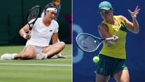 التنس في الأولمبياد: خروج مفاجئ للمصنفة أولى بارتي وإقصاء جابر