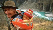 غالبية أطفال الصين يتركون مع أجدادهم في الارياف (جيري ريدفيرن/ Getty)