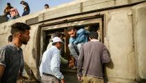 حوادث القطارات تتزايد في مصر بسبب تقادم الخطوط وانعدام الصيانة (getty)