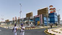 محطة لإنتاج الطاقة في مصر (خالد دسوقي/ فرانس برس)