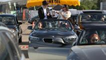 معرض سيارات في برلين