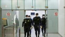 الشرطة الكويتية في كل مكان (ياسر الزيات/ فرانس برس)
