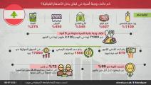 تكاليف الغذاء للأسر اللبنانية (العربي الجديد)