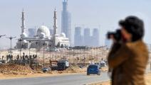 مشهد منمشروع العاصمة الإدارية بالقرب من القاهرة (getty)