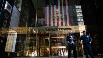 بناية ترامب تاور في حي مانهاتن بنيويورك