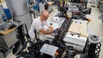 مصنع لسيارات فولكسفاغن في ألمانيا