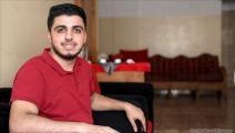 الشاب عبد الرحمن نصر في غزة 1 (محمد الحجار)