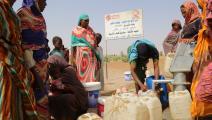 آبار جديدة لتوفير مياه الشرب في السودان (قطر الخيرية)