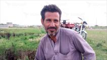 محمد أمين لاجئ أفغاني في باكستان (العربي الجديد)