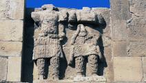 (معبد اللات في موقع الحضر الأثري بالعراق، Getty)