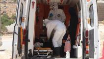 محاولات إسعاف مصابي كورونا في الشمال السوري (الدفاع المدني)