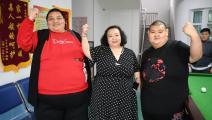 أبطال في الوزن الزائد (زانغ ياو/ Getty)