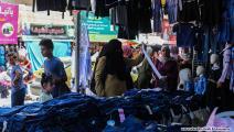 شراء مستلزمات المدارس في قطاع غزة (عبد الحكيم أبو رياش)