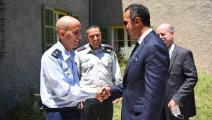 وكيل وزارة الخارجية البحرينية في إسرائيل (تويتر)