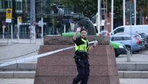 شرطية في مالمو في السويد (يوهان نيلسون/ فرانس برس)