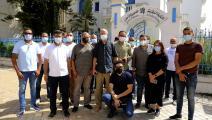 فريق الجزيرة في تونس ANIS MILI/AFP