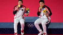 """""""البادمنتون"""" في الأولمبياد: إندونيسيا تحرز ذهبية زوجي السيدات"""